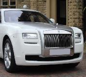 Rolls Royce Ghost - White Hire in UK