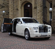 Rolls Royce Phantom Hire in Birmingham