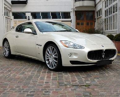 Maserati Granturismo Hire